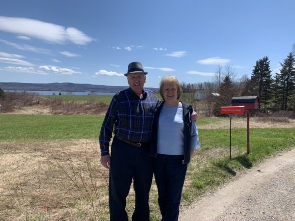 Rod and Charlotte MacIntyre. Rod has lived his whole lifetime here, the same home he was raised in; Charlotte for 50 years (celebrated 50th anniversary this year).